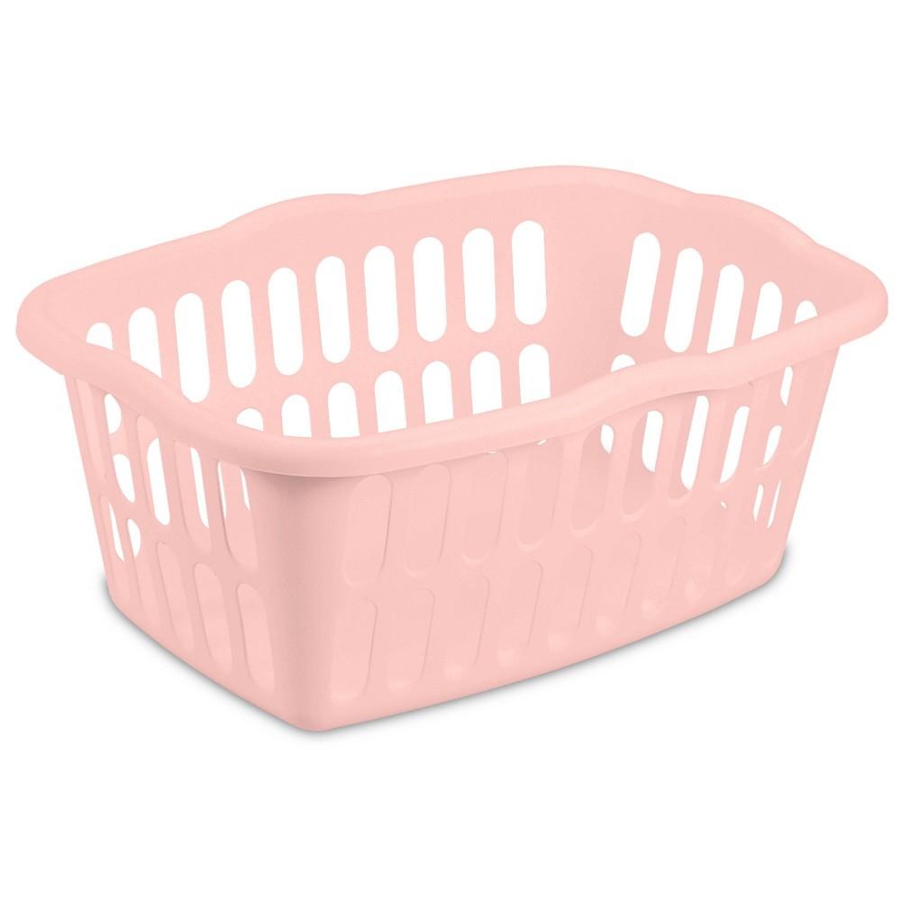 Image of 1.5Bu Laundry Basket Peach Blush - Room Essentials