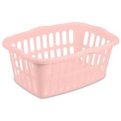 1.5 Bushel Rectangular Laundry Basket Peach Blush - Room Essentials™