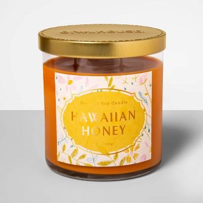 15.2oz Glass Jar 2-Wick Candle Hawaiian Honey - Opalhouse™