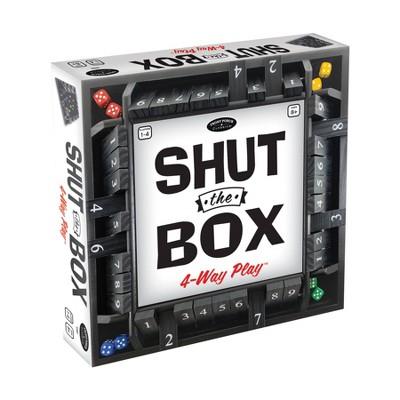 Shut the Box 4-Way Play Game