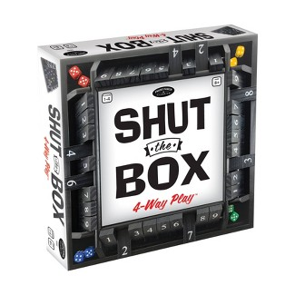 Shut The Box 4-Way Play Game : Target
