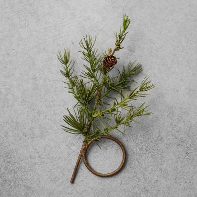 Napkin Rings Greenery Set of 4 - Hearth & Hand™ with Magnolia