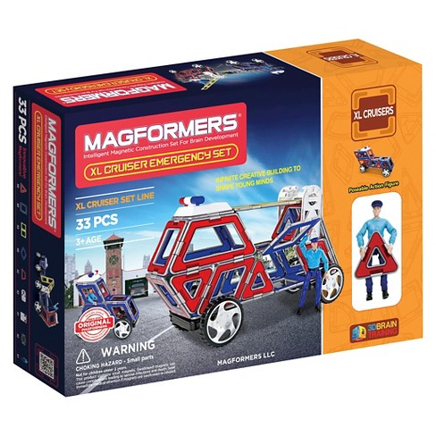 Magformers XL Cruisers Emergency Set - image 1 of 7