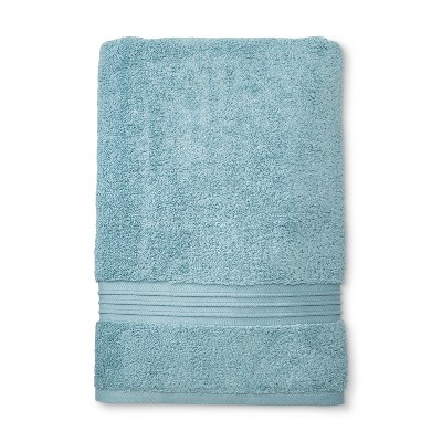 Spa Solid Bath Sheet Acoustic Aqua - Fieldcrest®