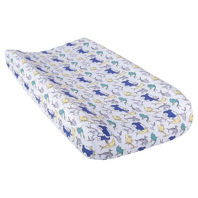Dr. Seuss by Trend Lab Changing Pad Cover - New Fish