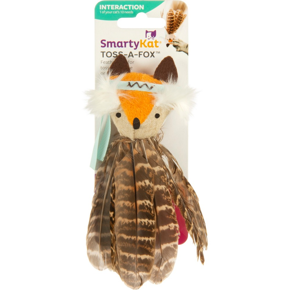 SmartyKat Cat Toy - Flying Fox, Multi-Colored