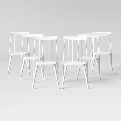 Windsor 6pk Patio Chair - White - Project 62™