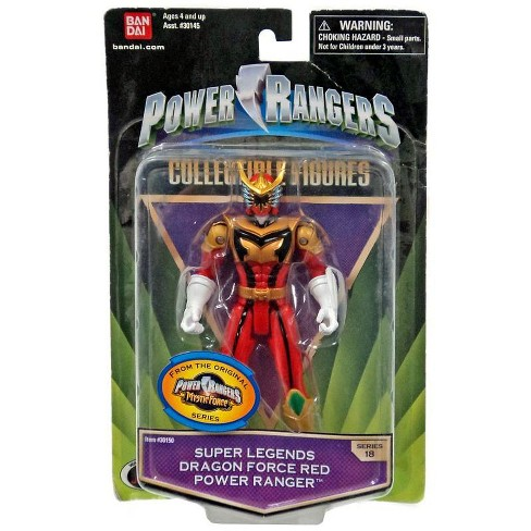 Power Rangers Mystic Force Collectible Figures Super Legends Dragon Force Red Power Ranger Action Figure - image 1 of 1