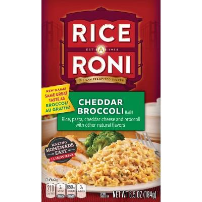 Rice A Roni Cheddar Broccoli Rice - 6.5oz