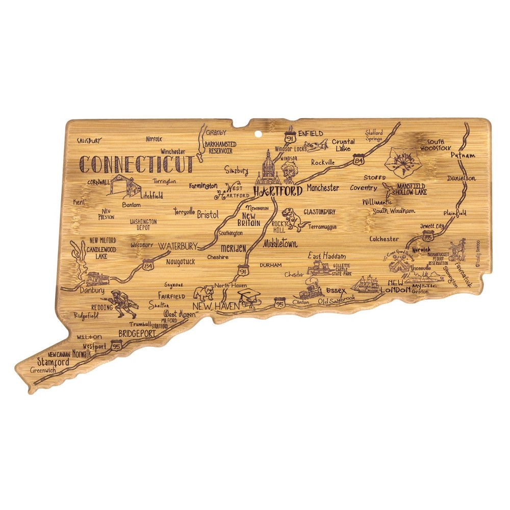 Image of Totally Bamboo Destination Connecticut Serving and Cutting Board