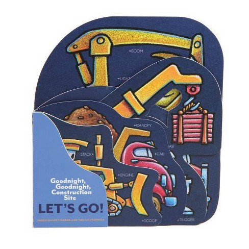 Goodnight, Goodnight, Construction Site: Let's Go! - by  Sherri Duskey Rinker (Board_book) - image 1 of 1