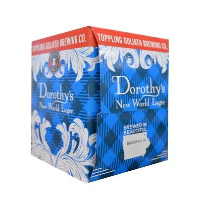 Toppling Goliath Dorothy's New World Lager Beer - 4pk/16 fl oz Cans