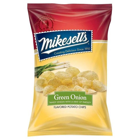 Mikesell's Green Onion Flavored Potato Chips - 2oz - image 1 of 1
