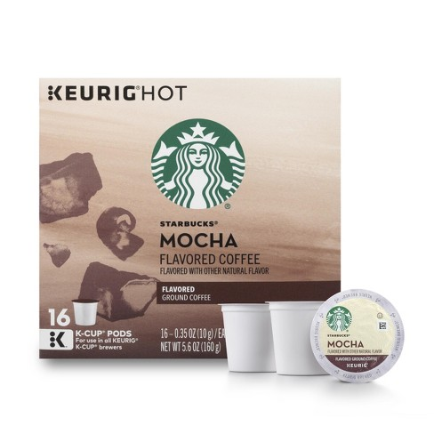 Starbucks Mocha Medium Roast - Keurig K-Cup Pods - 16ct - image 1 of 5