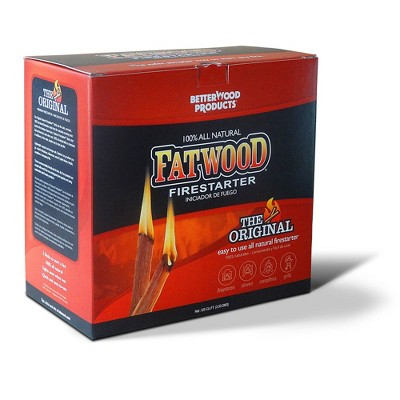 Betterwood 10lb Firestarter and Betterwood Pine 5lb Firestarter for Campfire, BBQ, or Pellet Stove; Non-Toxic and Water Resistant