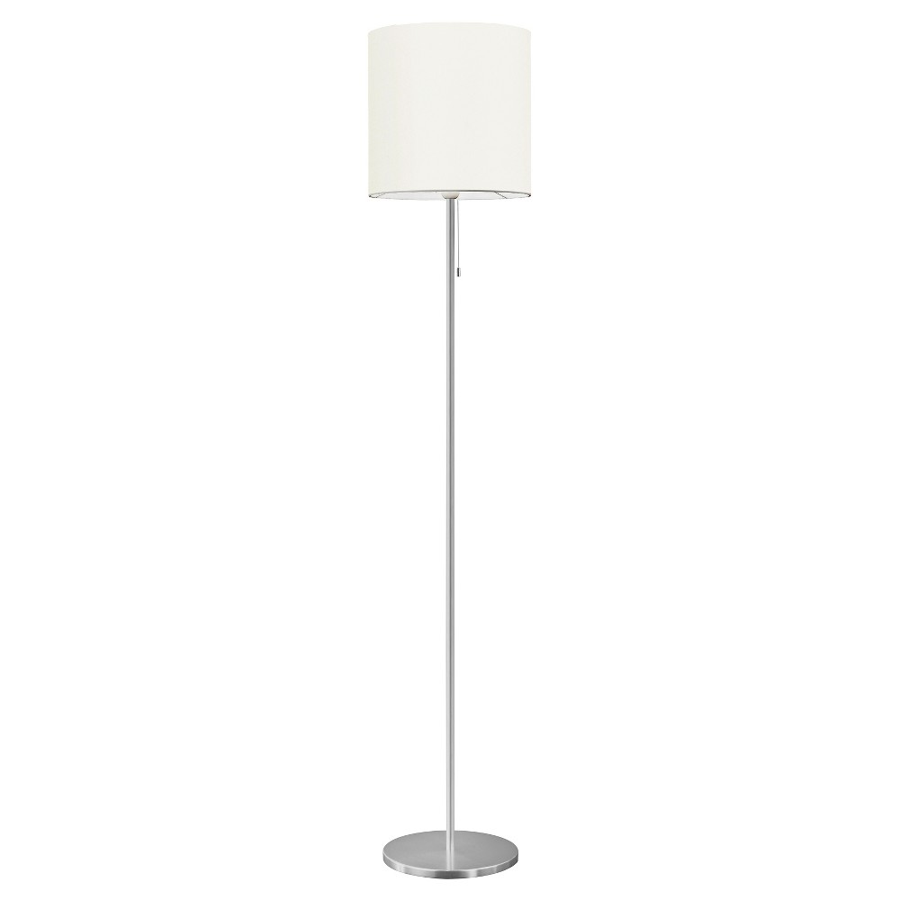 "Image of ""60.25"""" Sendo Floor Lamp Aluminum - Eglo"""