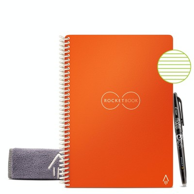 """Core Smart Spiral Reusable Notebook Lined 36 Pages 6""""x8.8"""" - Rocketbook"""
