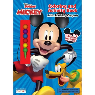 Disney Jr Coloring Book with Stacking Crayons