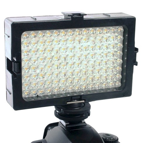 DLC Video and DSLR Video Light with Variable Light Output - Black (DL-DV112A) - image 1 of 1