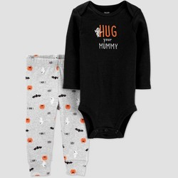 Baby Halloween 'Hug your Mummy' Top and Bottom Set - Just One You® made by carter's