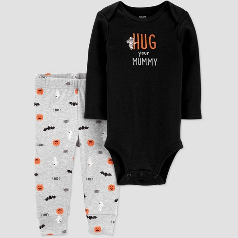 Baby Halloween 'Hug your Mummy' Top and Bottom Set - Just One You® made by carter's - image 1 of 1