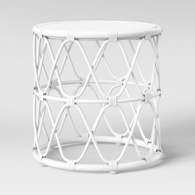 Jewel Rattan Table White - Opalhouse™