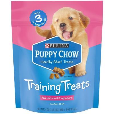 Nestle Purina - Puppy Chow - Training Treats - Salmon - 24oz