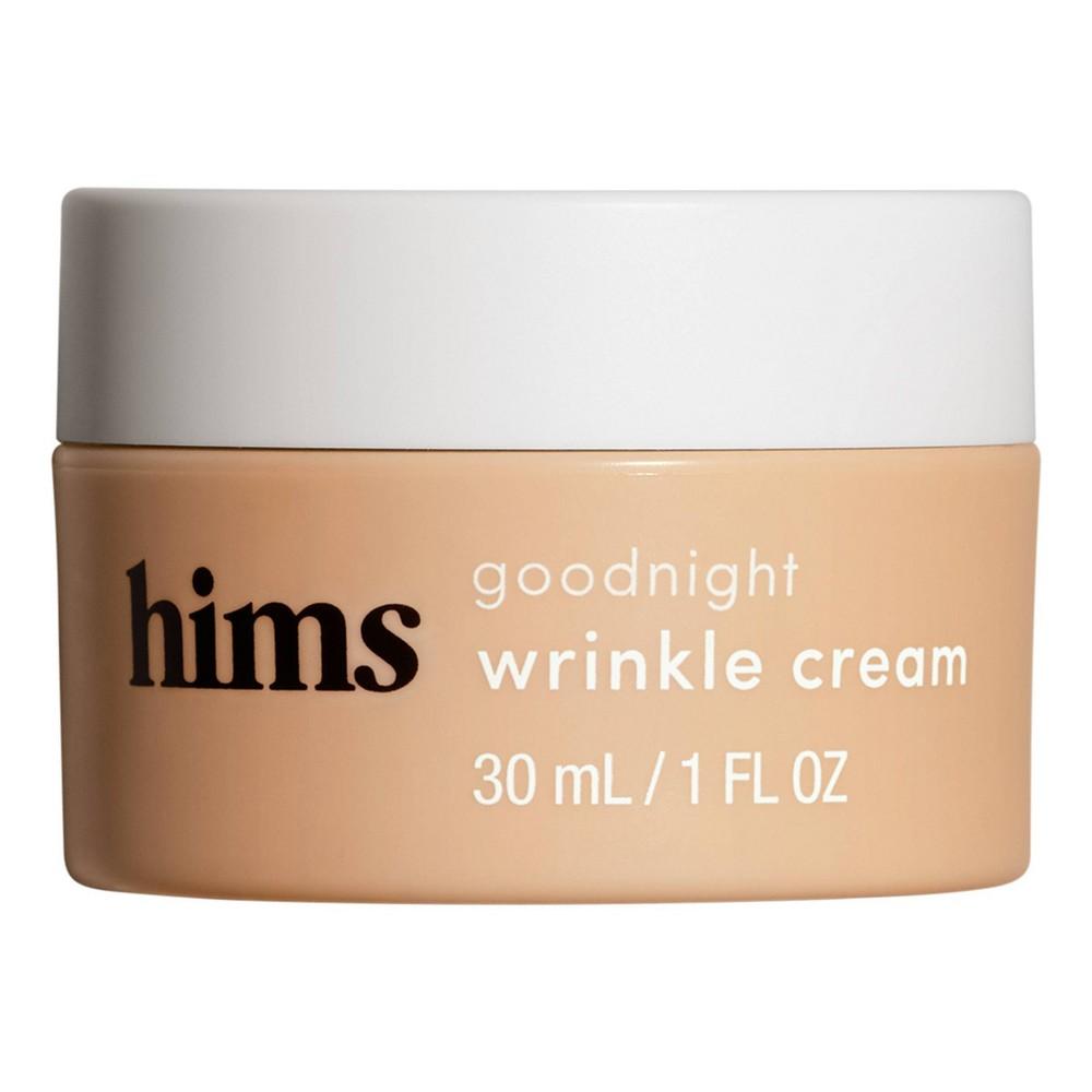 Image of hims Goodnight Wrinkle Cream - Caffeine-infused Moisturizer and De-puffer - 1 fl oz