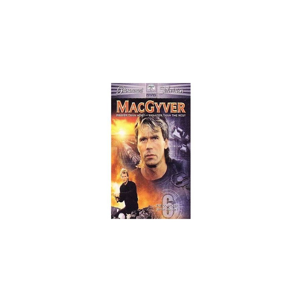 Macgyver:Complete Sixth Season (Dvd)