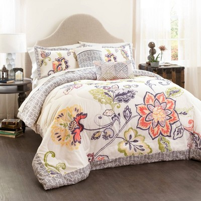 Aster Quilted Comforter Set - 5 Piece Lush Décor®
