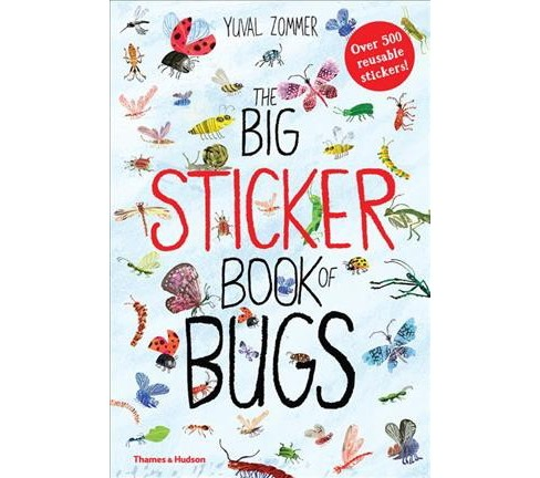 Big Sticker Book of Bugs (Paperback) (Yuval Zommer) - image 1 of 1