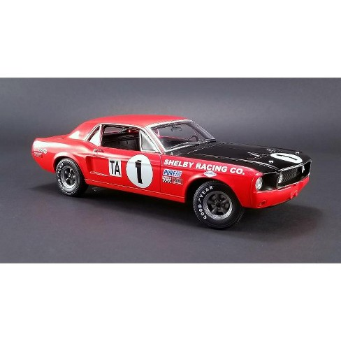 Ford Shelby Gt   Jerry Titus Class Champion Ltd Ed   Cast Model Acme Exclusive By Greenlight
