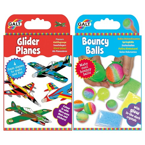 Galt Activity 2-pack - Glider Planes & Bouncy Balls - image 1 of 6