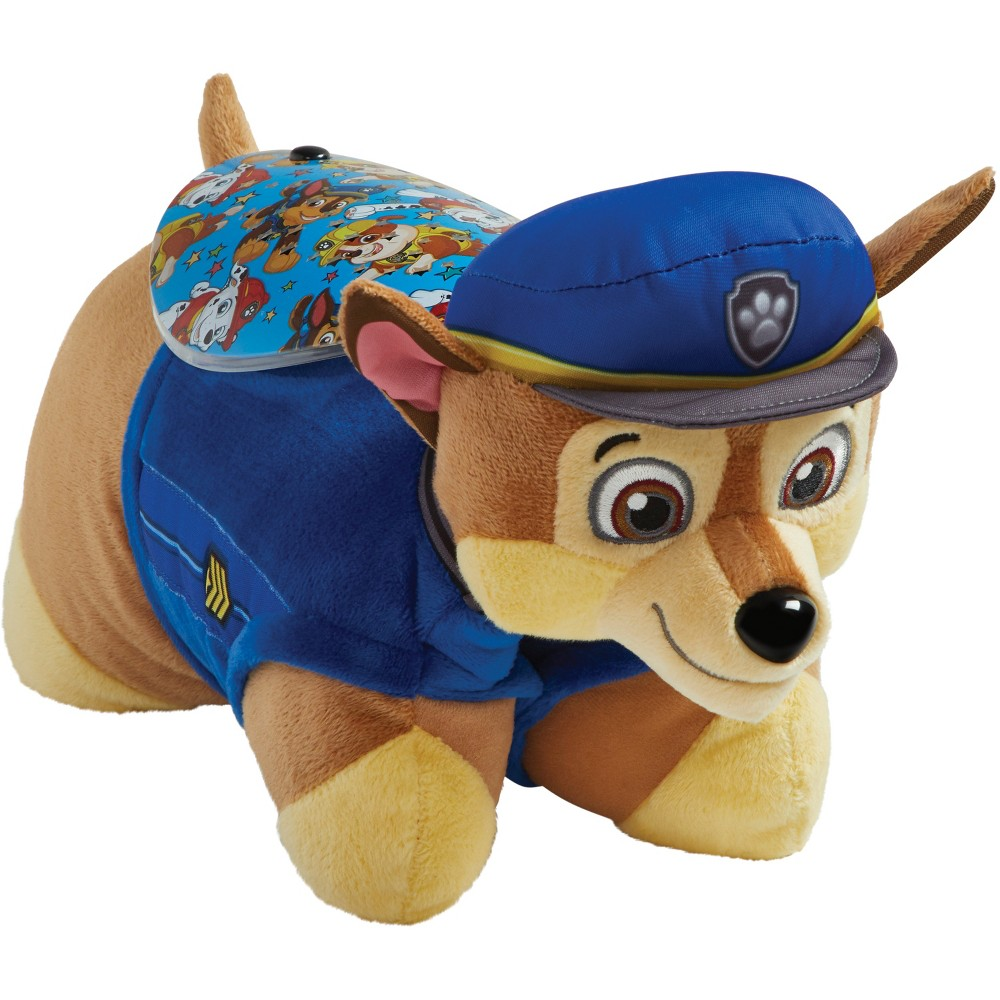 PAW Patrol Chase Sleeptime Lite Pillow Pet, Blue
