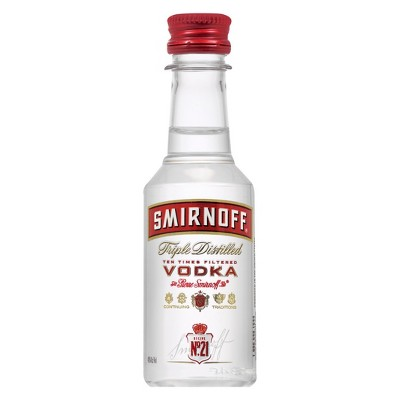 Smirnoff Vodka - 50ml Bottle
