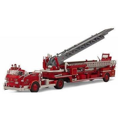 American LaFrance San Francisco Fire Truck 4 ALF 900 Series 1/64 Diecast Car Model by Code 3