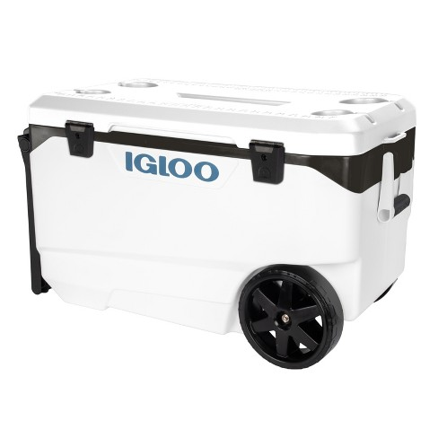 Igloo Flip and Tow 90qt Cooler - White - image 1 of 4
