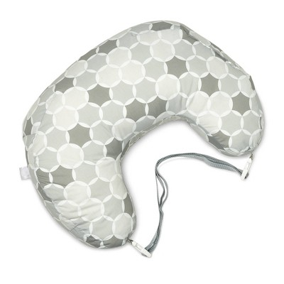 Boppy Best Latch Nursing Pillow Gray Circles