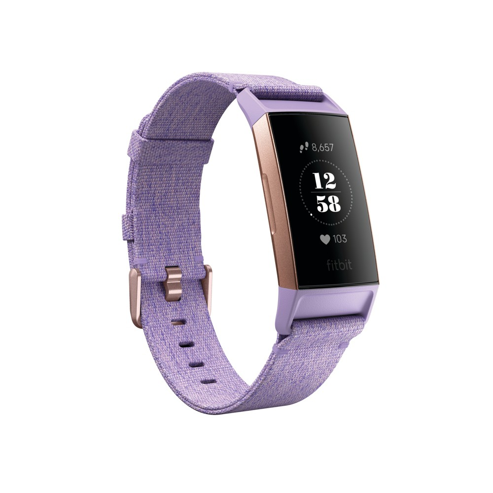 Fitbit Charge 3 SE Fitness Tracker purple