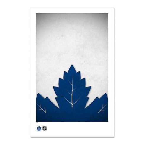 Nhl Toronto Maple Leafs Logo Art Poster Print Target