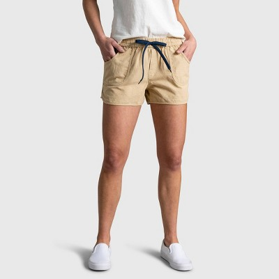 "Women's United By Blue 3"" Natural Pull-On Shorts"