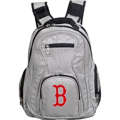 MLB Boston Red Sox Gray Laptop Backpack