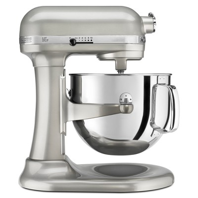 KitchenAid Refurbished Professional 600 Series 6qt Bowl-Lift Stand Mixer Contour Silver - RKP26M1XSR