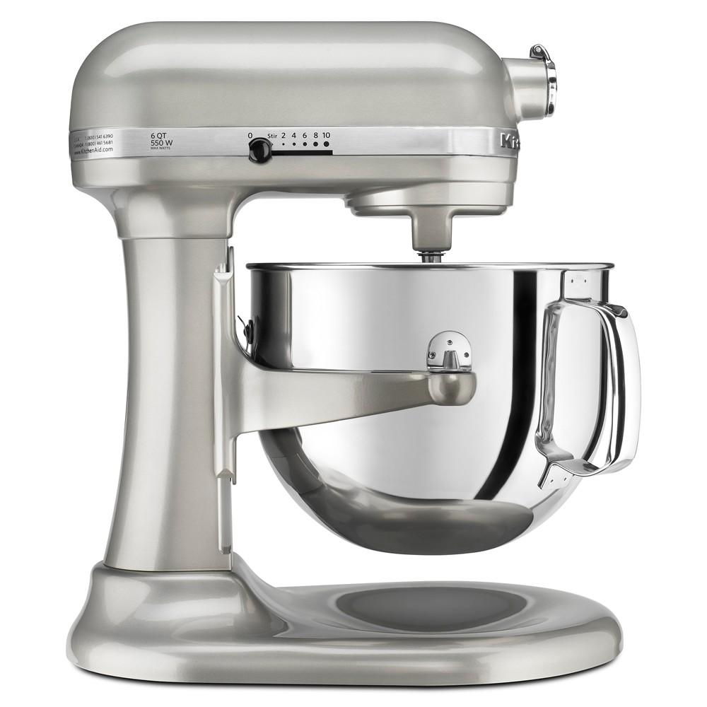 KitchenAid Refurbished Professional 600 Series 6qt Bowl-Lift Stand Mixer Contour Silver - RKP26M1XSR