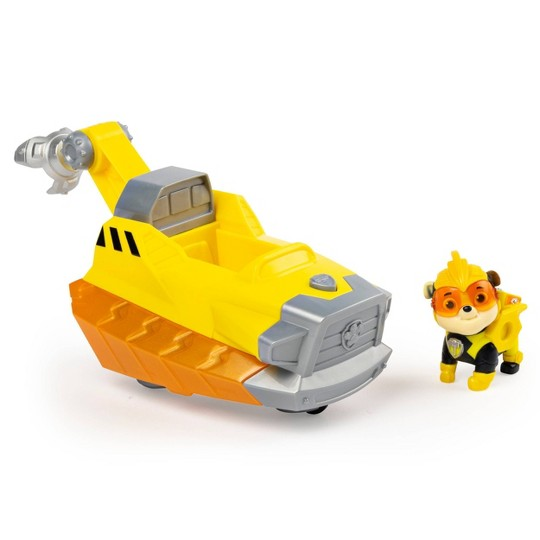 PAW Patrol Mighty Pups Charged Up Deluxe Vehicle - Rubble image number null