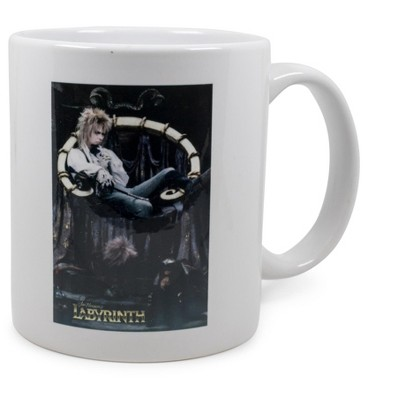 Surreal Entertainment Labyrinth Jareth the Goblin King Ceramic Mug Exclusive   Holds 11 Ounces