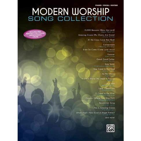 Modern Worship Song Collection Pianovocalguitar Paperback Target