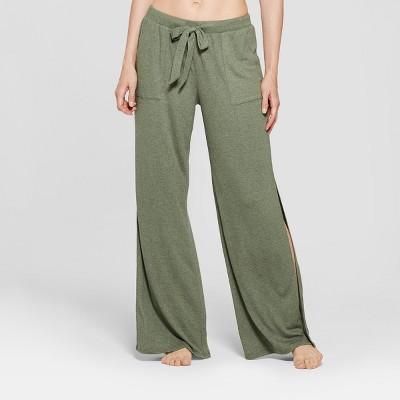 Women's Tie Pajama Pants - Gilligan & O'Malley™ Moss Lane XL