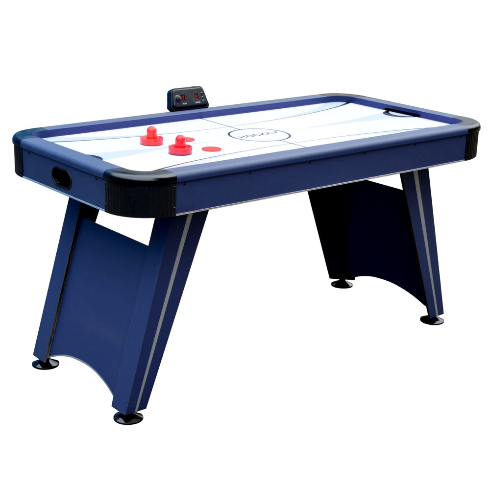 Hathaway Voyager 5' Air Hockey Table - Blue