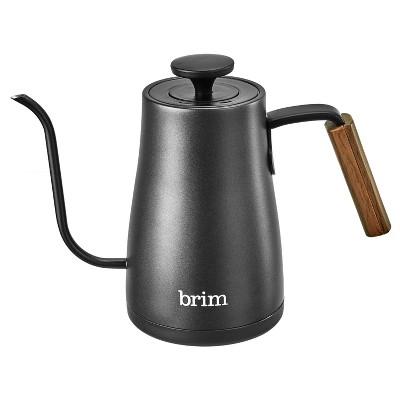 Brim 0.8L Gooseneck Kettle - Black